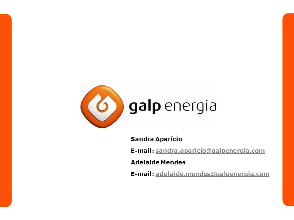 Sandra Aparício E-mail: sandra.aparicio@galpenergia.com.