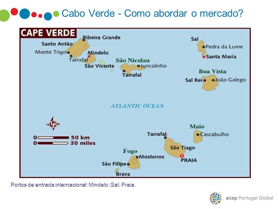 Cabo Verde - Como abordar o mercado