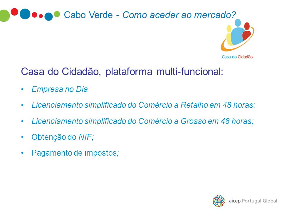 Casa do Cidadão, plataforma multi-funcional: