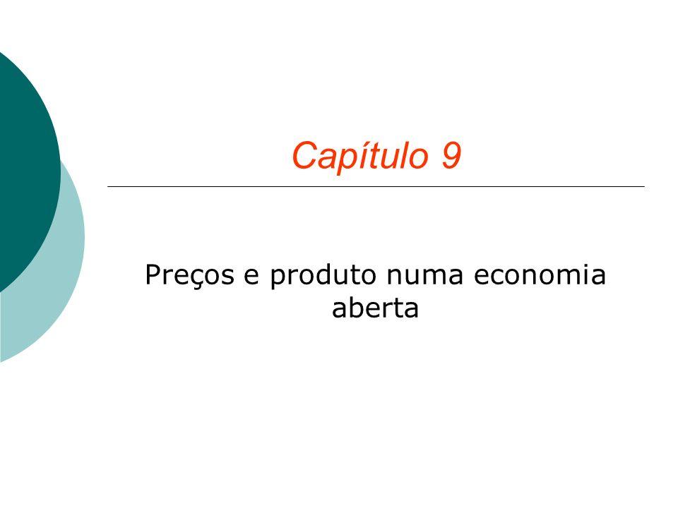 Preços e produto numa economia aberta