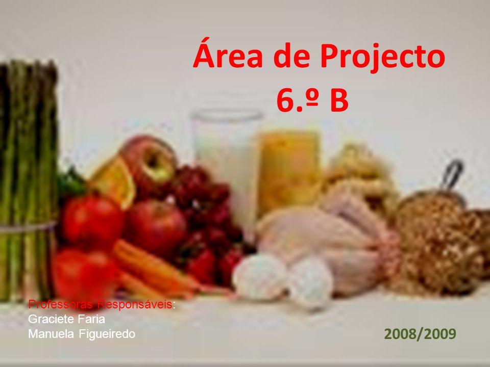 Área de Projecto 6.º B 2008/2009 Professoras Responsáveis: