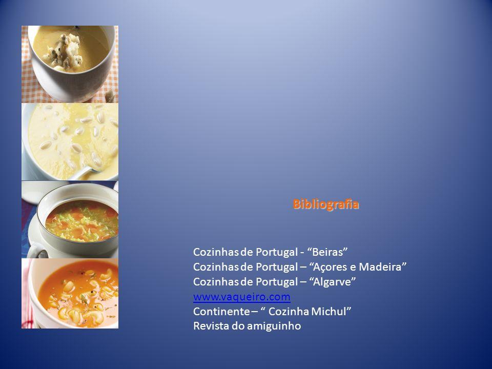 Bibliografia Cozinhas de Portugal - Beiras