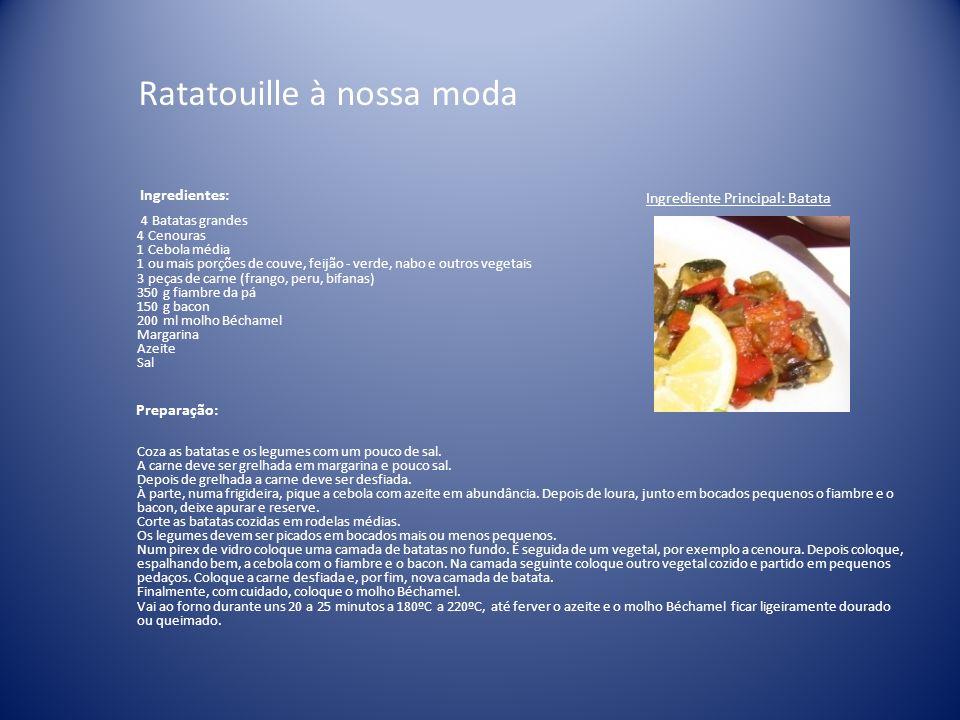 Ratatouille à nossa moda