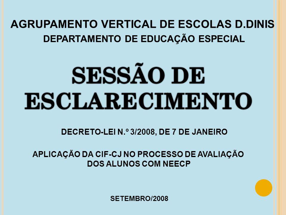 SESSÃO DE ESCLARECIMENTO