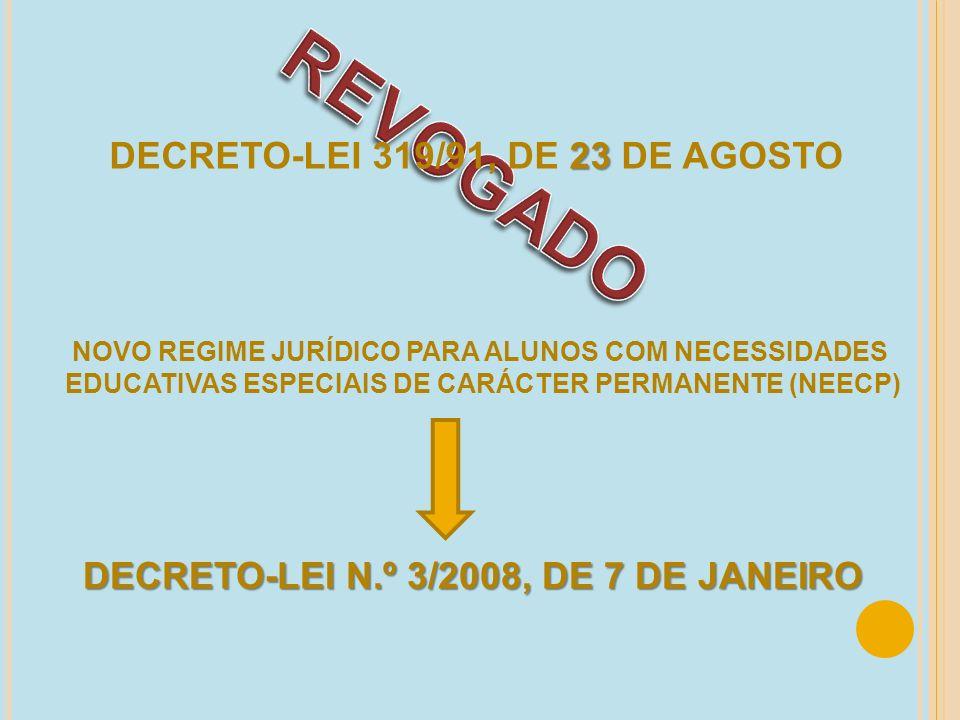 REVOGADO DECRETO-LEI 319/91, DE 23 DE AGOSTO