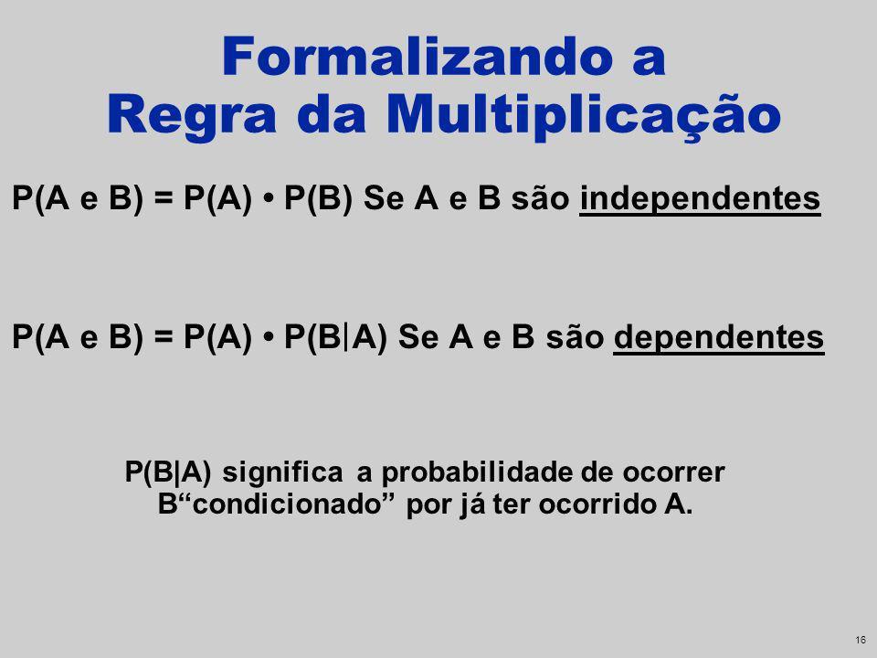 Formalizando a Regra da Multiplicação