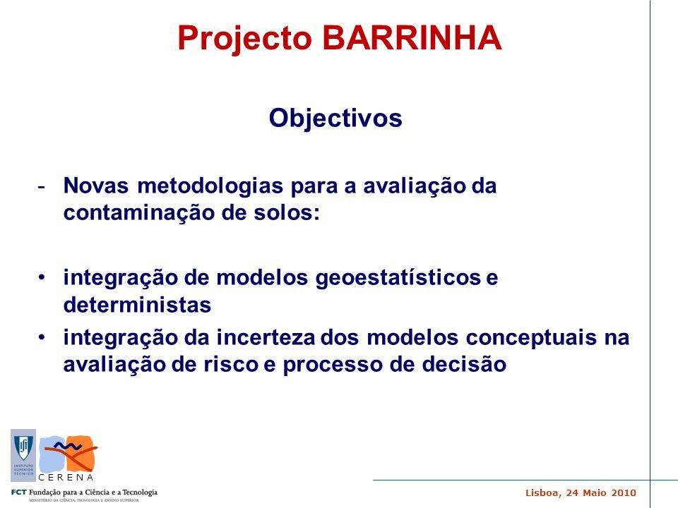 Projecto BARRINHA Objectivos