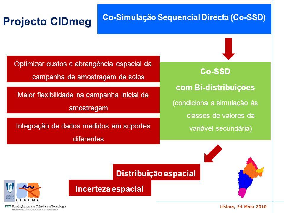 Co-Simulação Sequencial Directa (Co-SSD)
