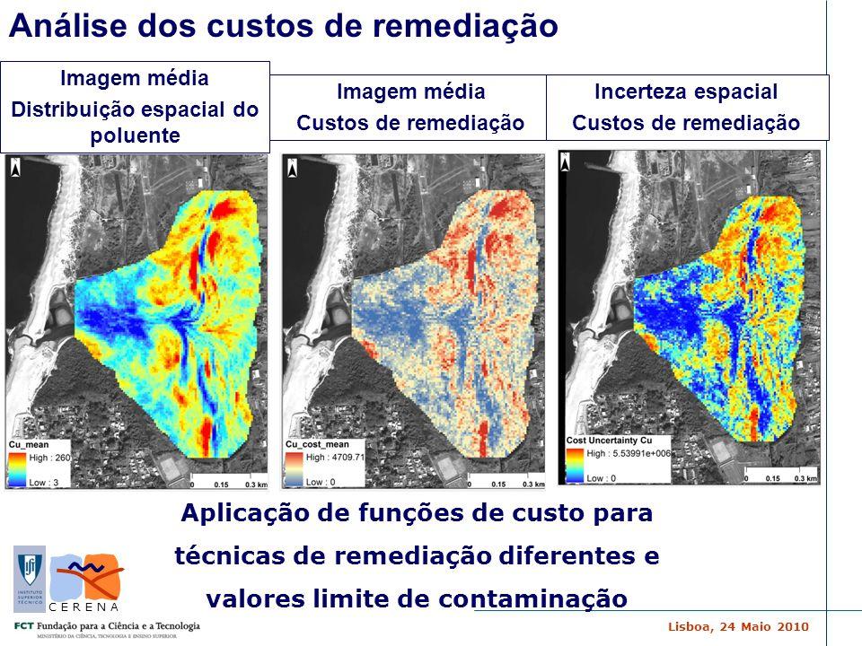 Distribuição espacial do poluente