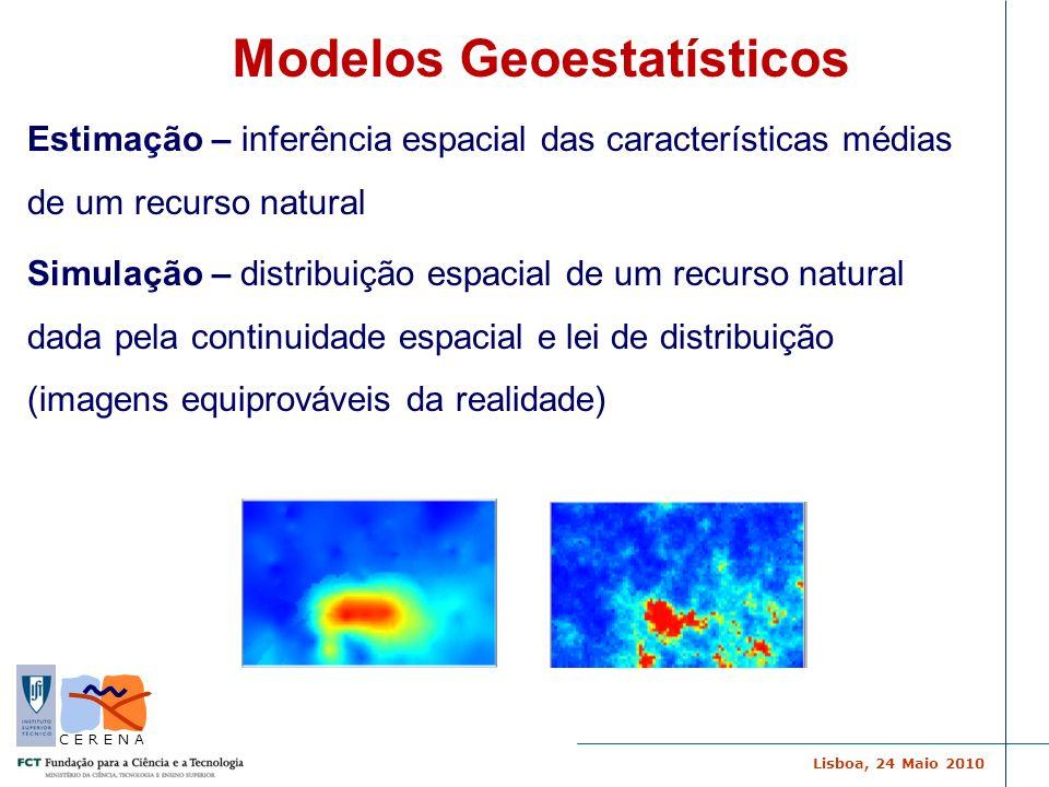 Modelos Geoestatísticos