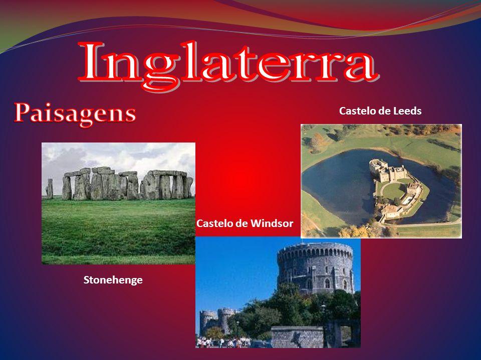 Inglaterra Paisagens Castelo de Leeds Castelo de Windsor Stonehenge
