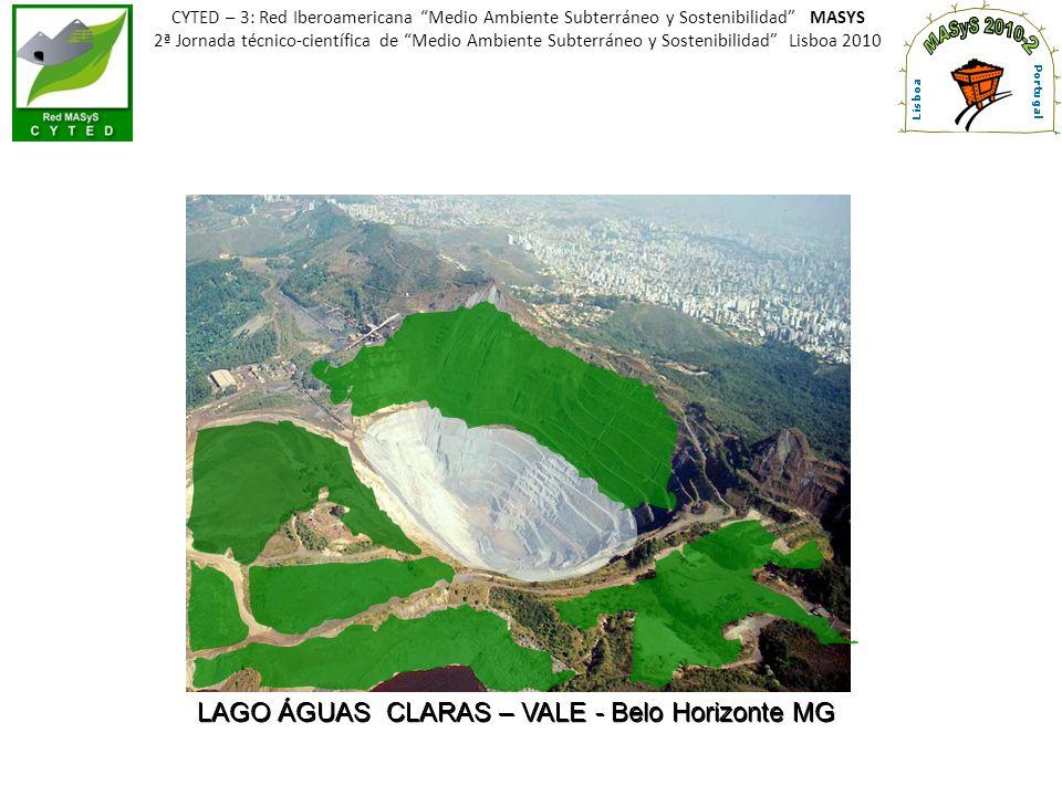 LAGO ÁGUAS CLARAS – VALE - Belo Horizonte MG