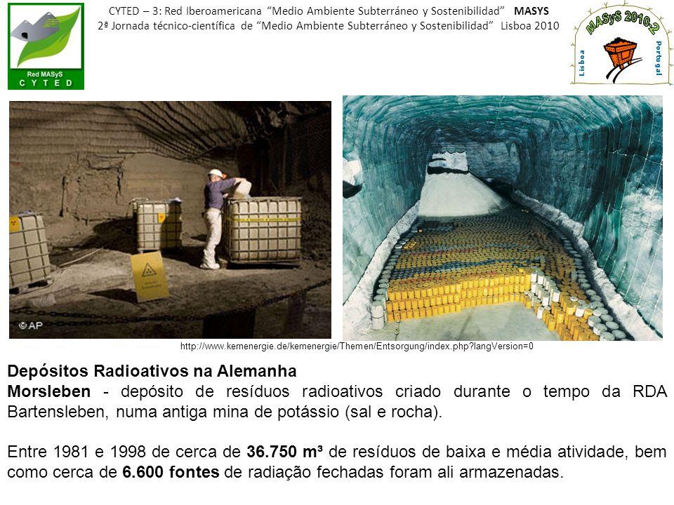 Depósitos Radioativos na Alemanha