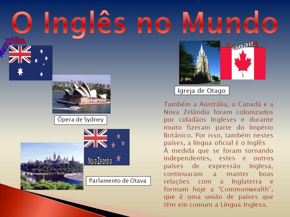 O Inglês no Mundo Austrália Canadá Nova Zelândia Igreja de Otago