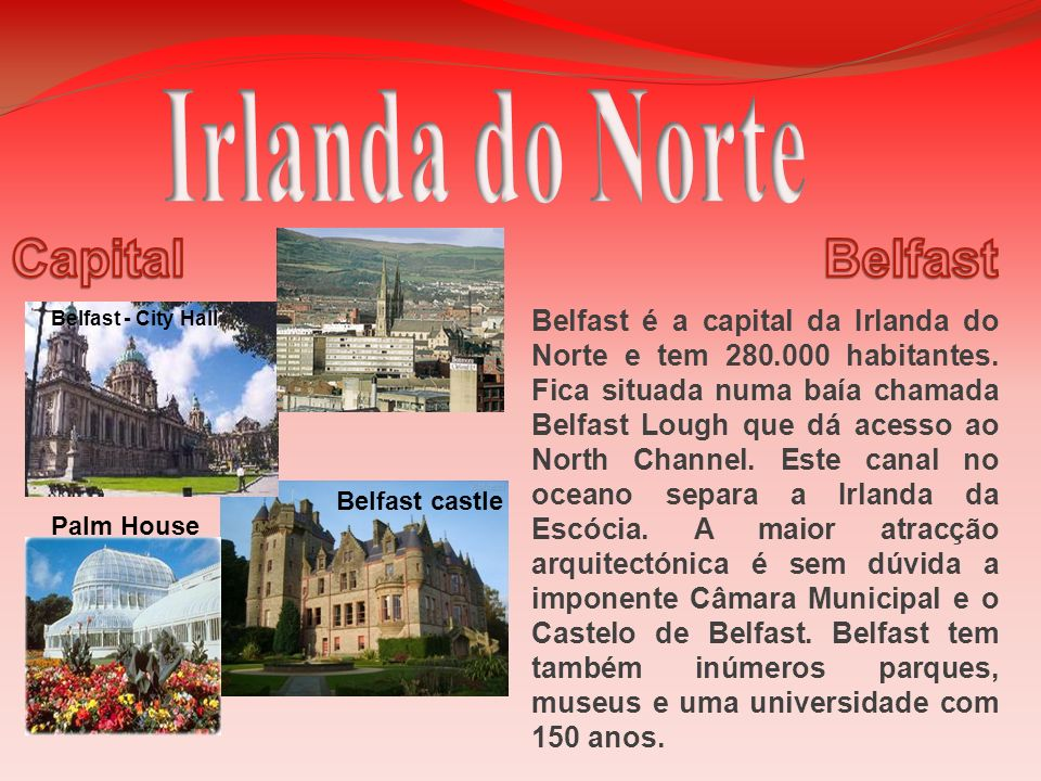 Irlanda do Norte Capital Belfast
