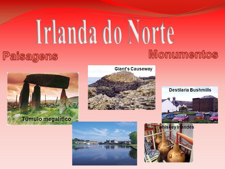Irlanda do Norte Monumentos Paisagens Túmulo megalítico