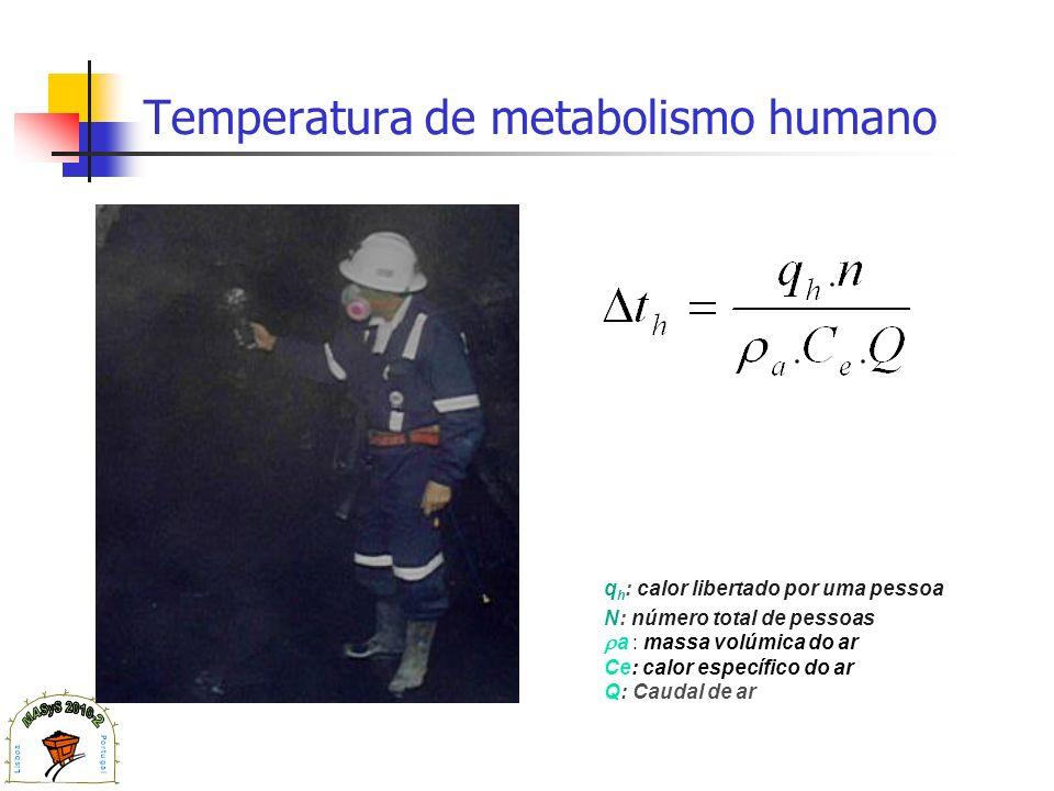 Temperatura de metabolismo humano