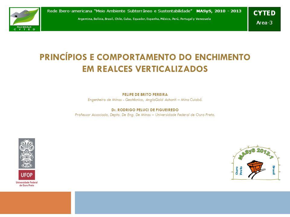 PRINCÍPIOS E COMPORTAMENTO DO ENCHIMENTO EM REALCES VERTICALIZADOS