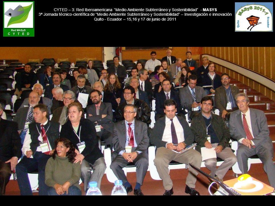 Quito - Ecuador – 15,16 y 17 de junio de 2011
