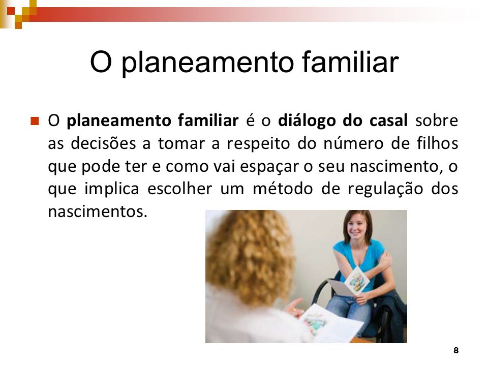 O planeamento familiar