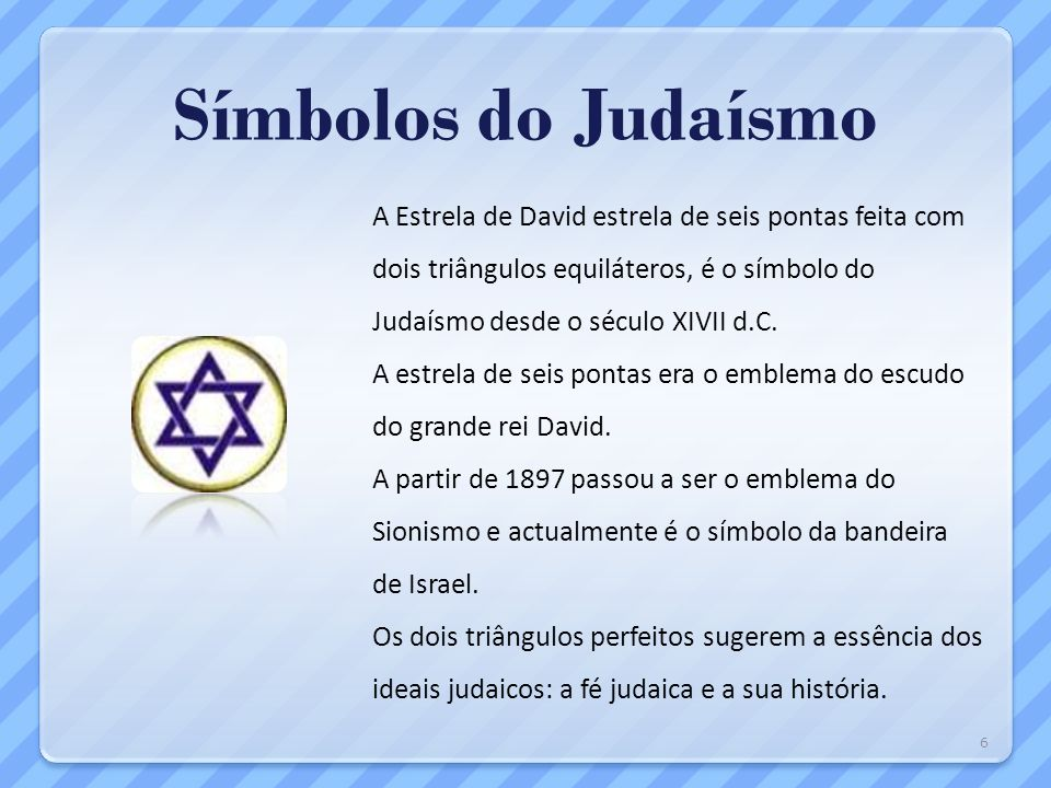 Símbolos do Judaísmo