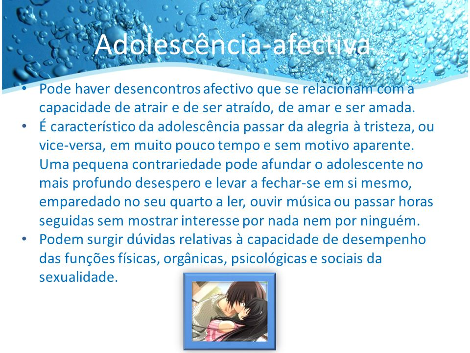 Adolescência-afectiva