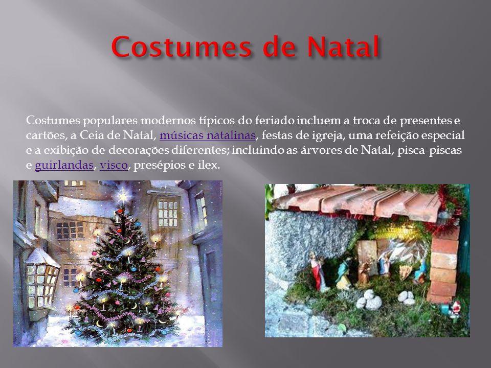 Costumes de Natal
