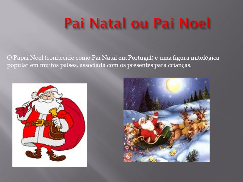 Pai Natal ou Pai Noel