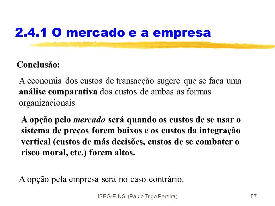 ISEG-EINS (Paulo Trigo Pereira)