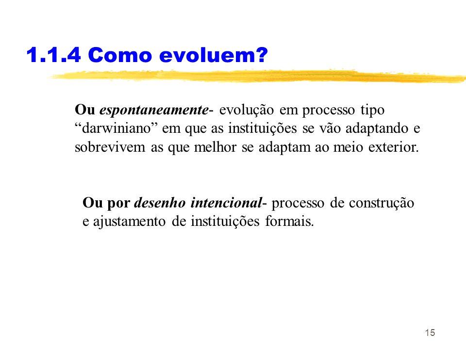 1.1.4 Como evoluem