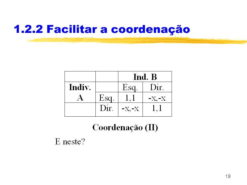1.2.2 Facilitar a coordenação