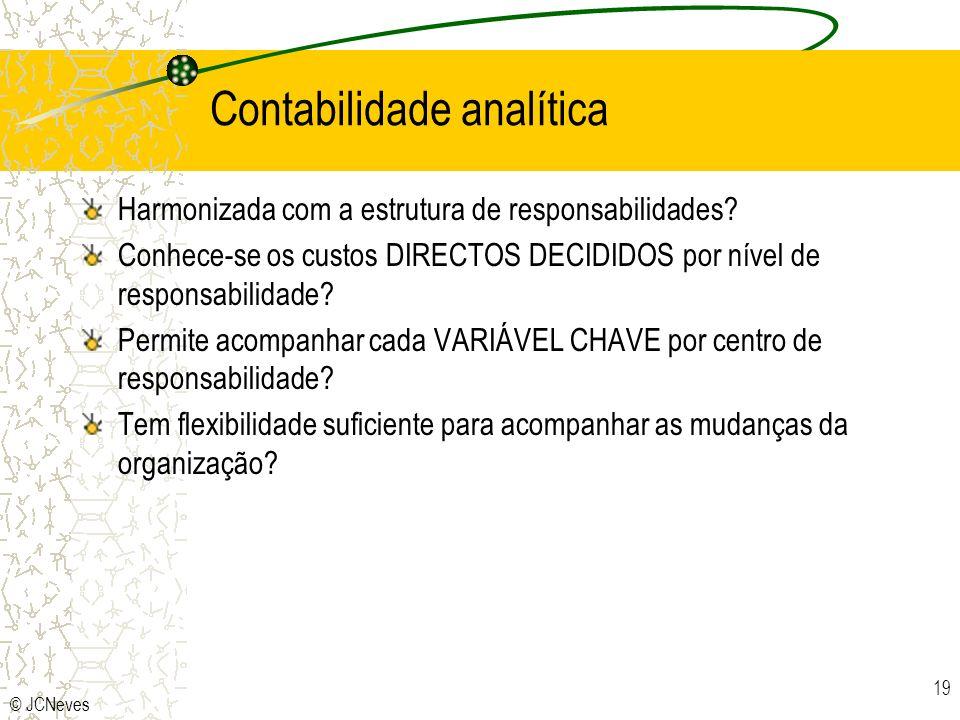 Contabilidade analítica