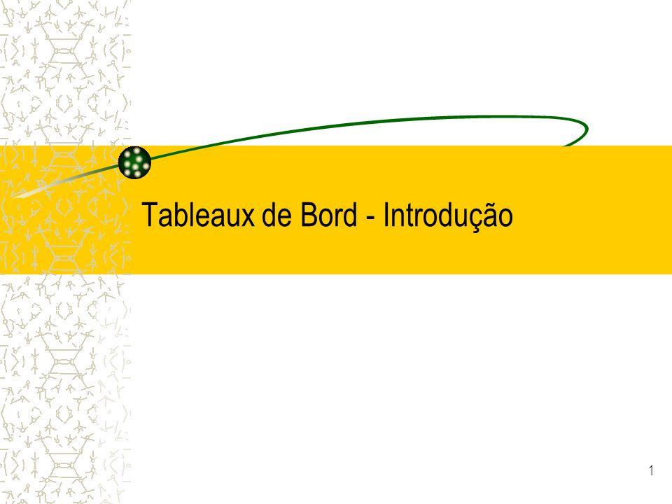 Tableaux de Bord - Introdução