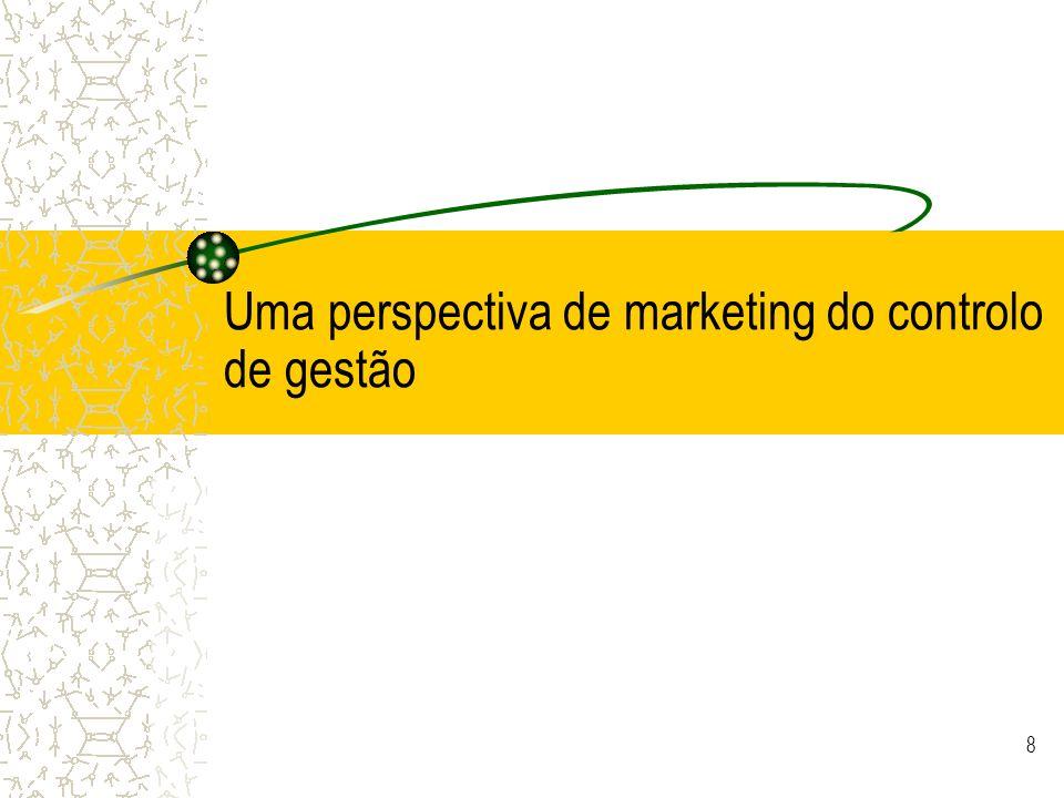 Uma perspectiva de marketing do controlo de gestão