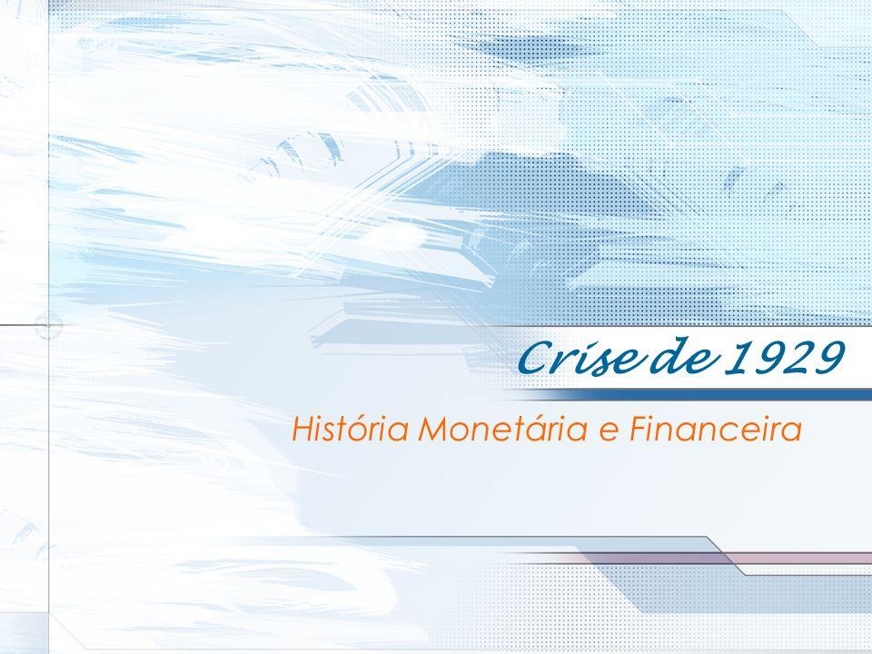 História Monetária e Financeira