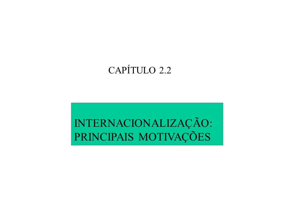 PRINCIPAIS MOTIVAÇÕES