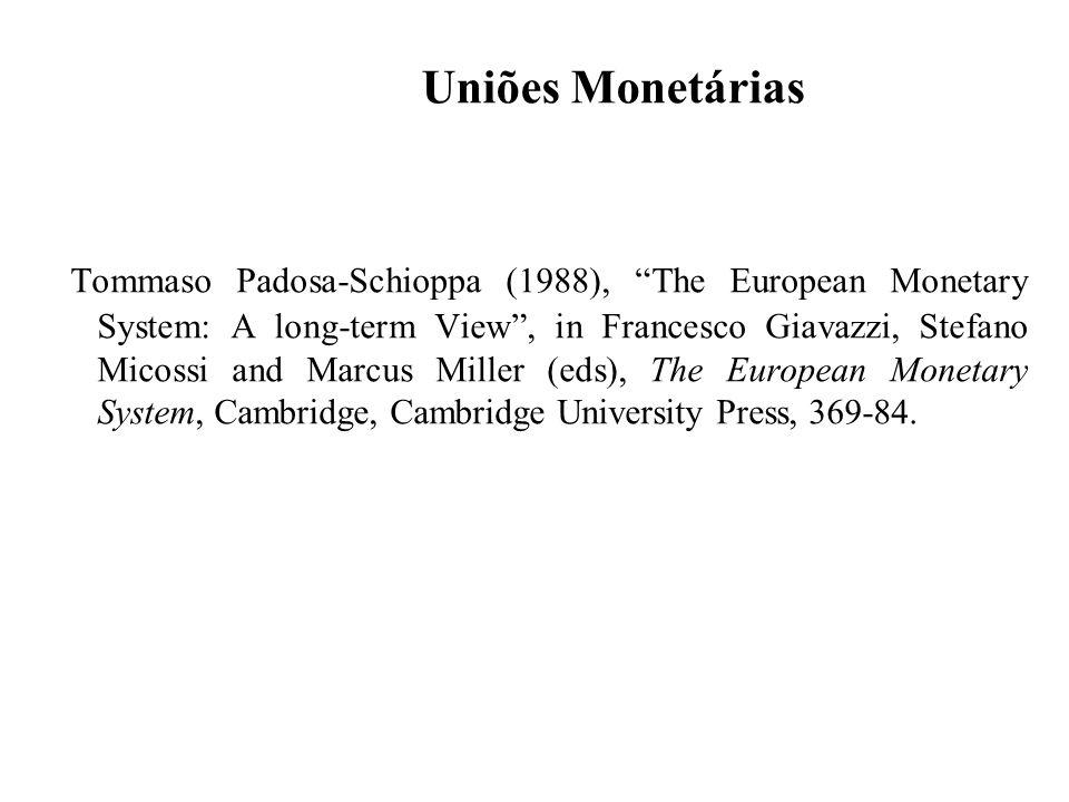Uniões Monetárias