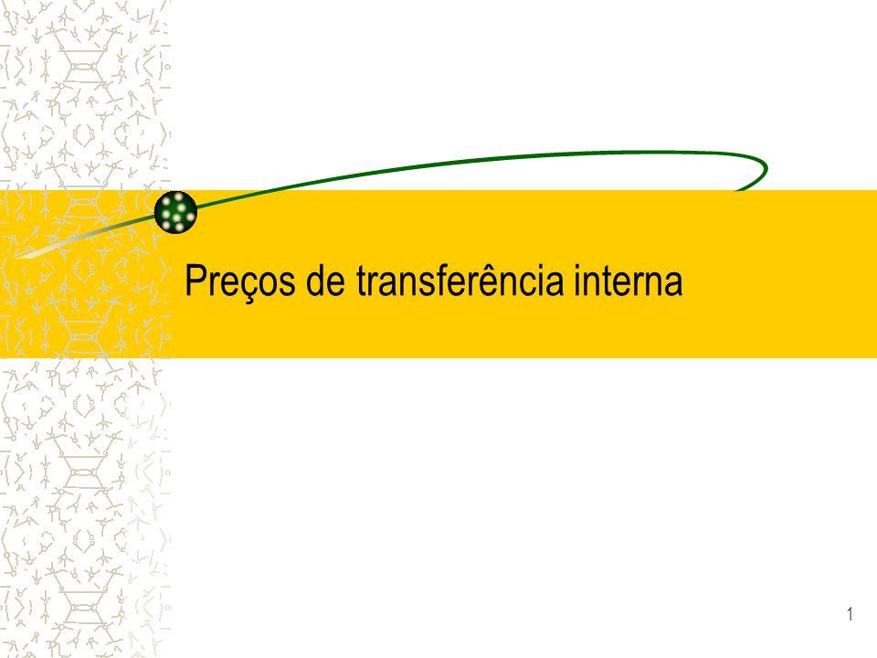 Preços de transferência interna