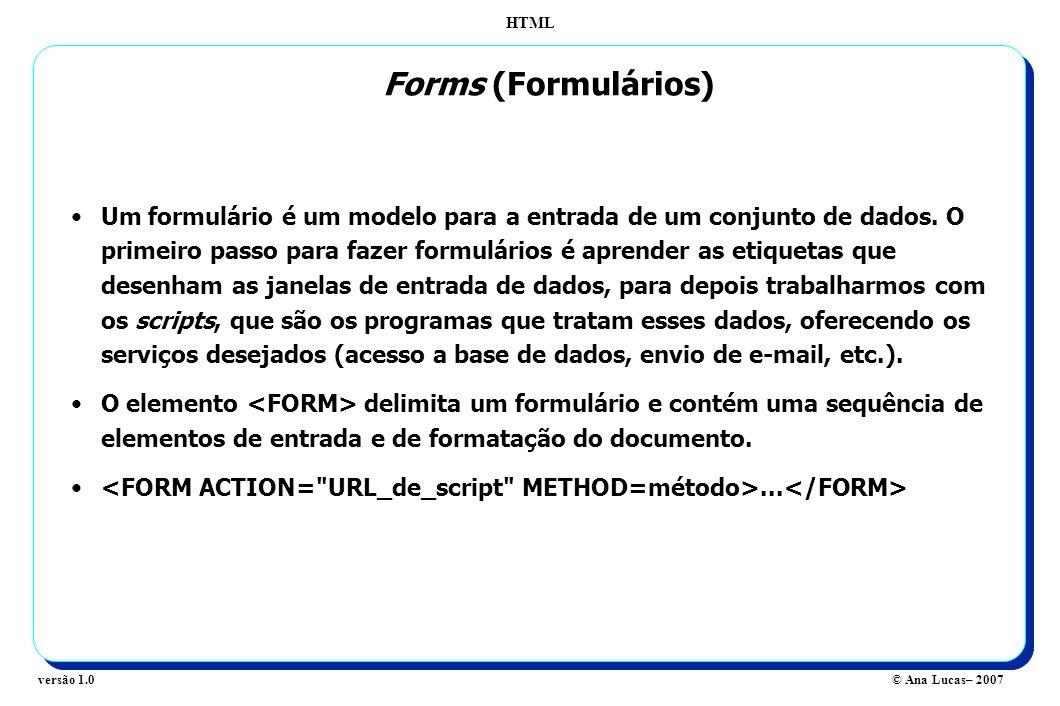 Forms (Formulários)