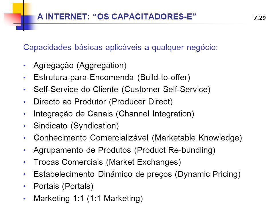 A INTERNET: OS CAPACITADORES-E