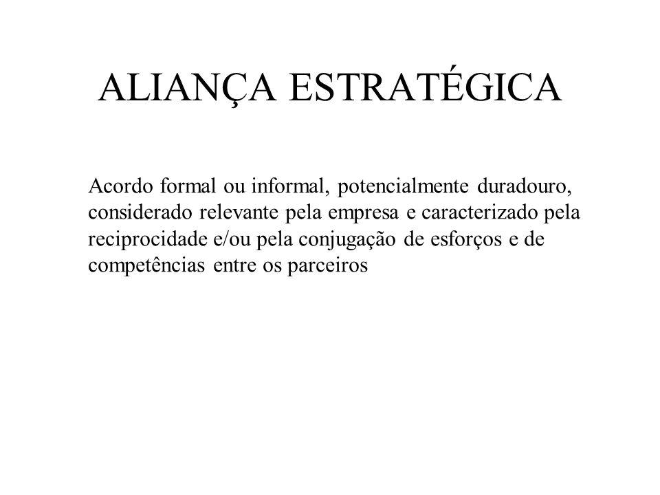 ALIANÇA ESTRATÉGICA