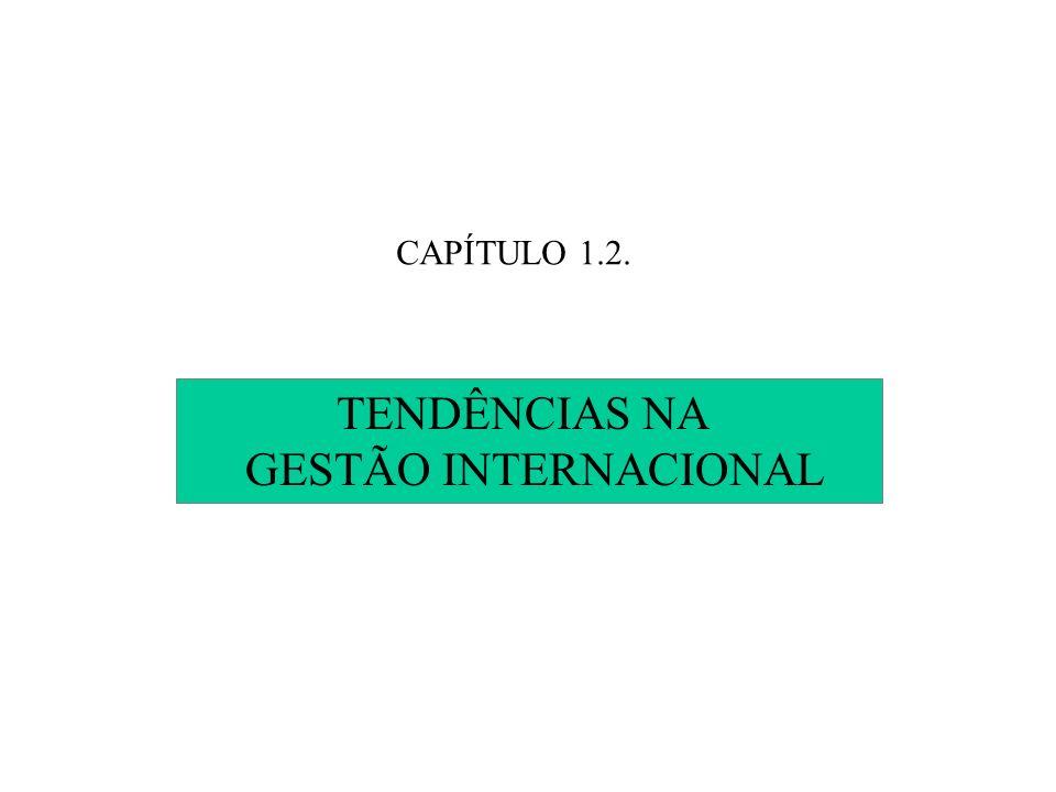CAPÍTULO 1.2. TENDÊNCIAS NA GESTÃO INTERNACIONAL