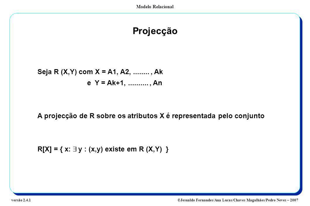 Projecção