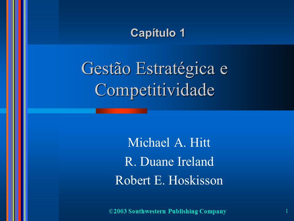 Gestão Estratégica e Competitividade