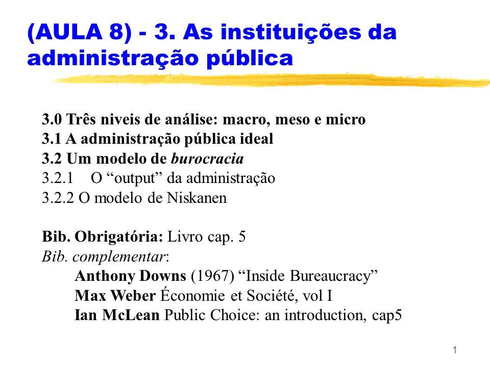 (AULA 8) - 3. As instituições da administração pública