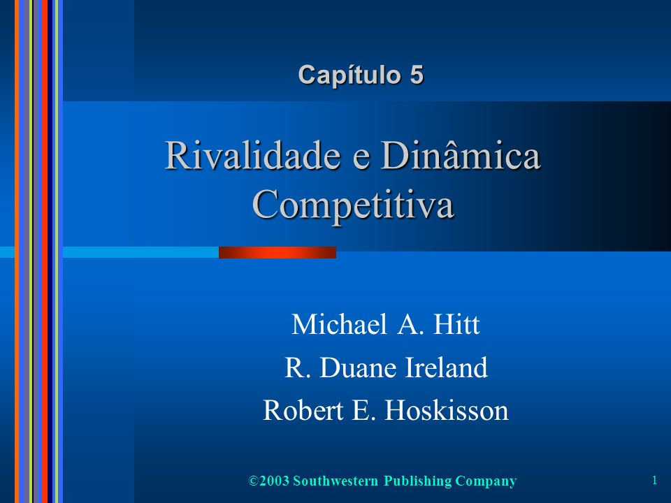 Rivalidade e Dinâmica Competitiva