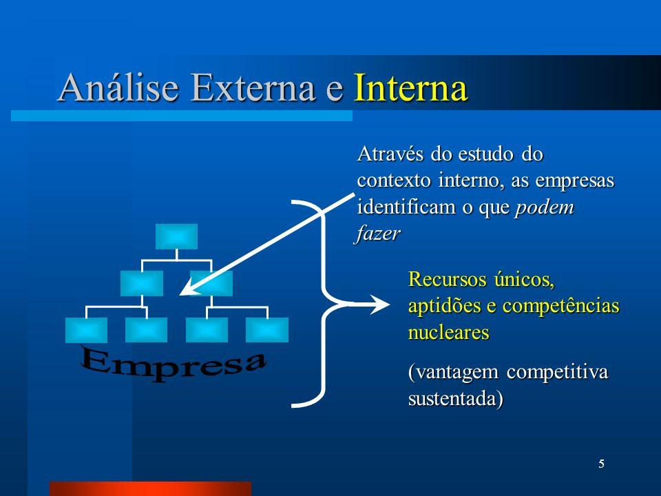 Análise Externa e Interna
