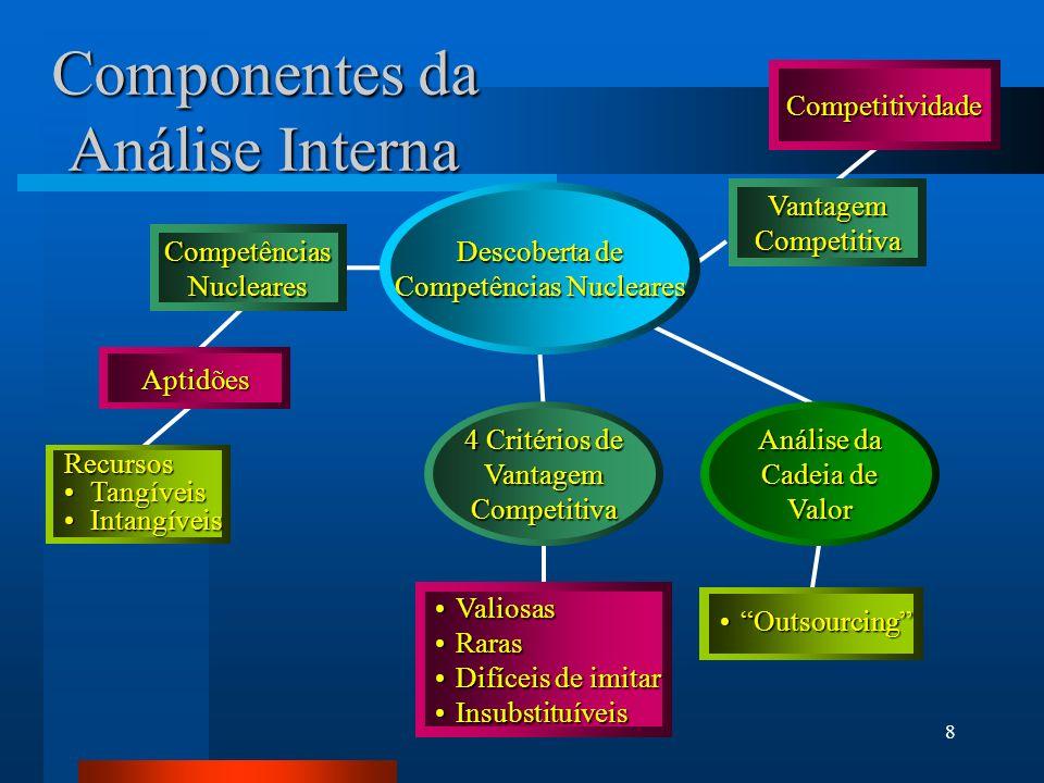 Componentes da Análise Interna