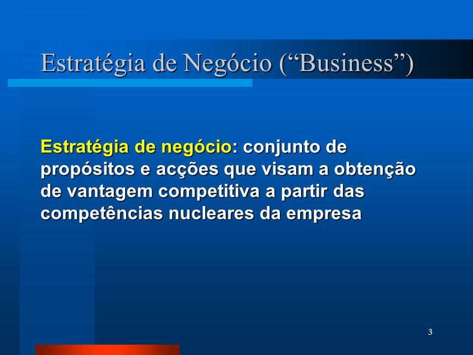Estratégia de Negócio ( Business )