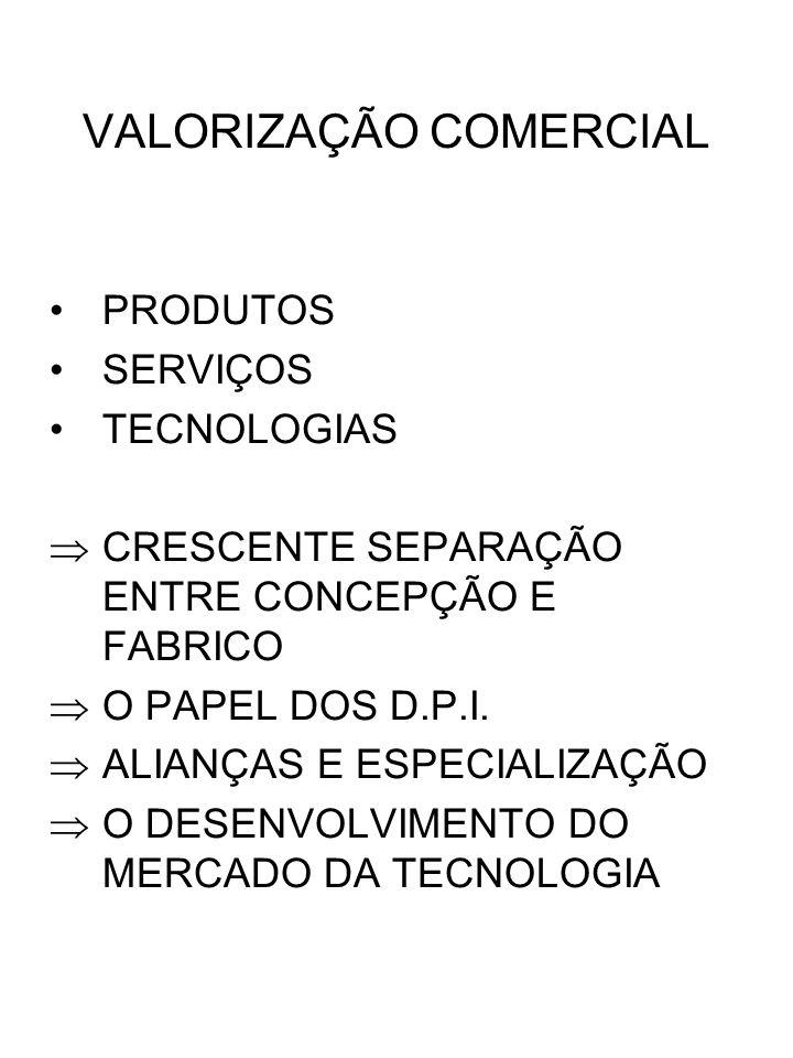 VALORIZAÇÃO COMERCIAL